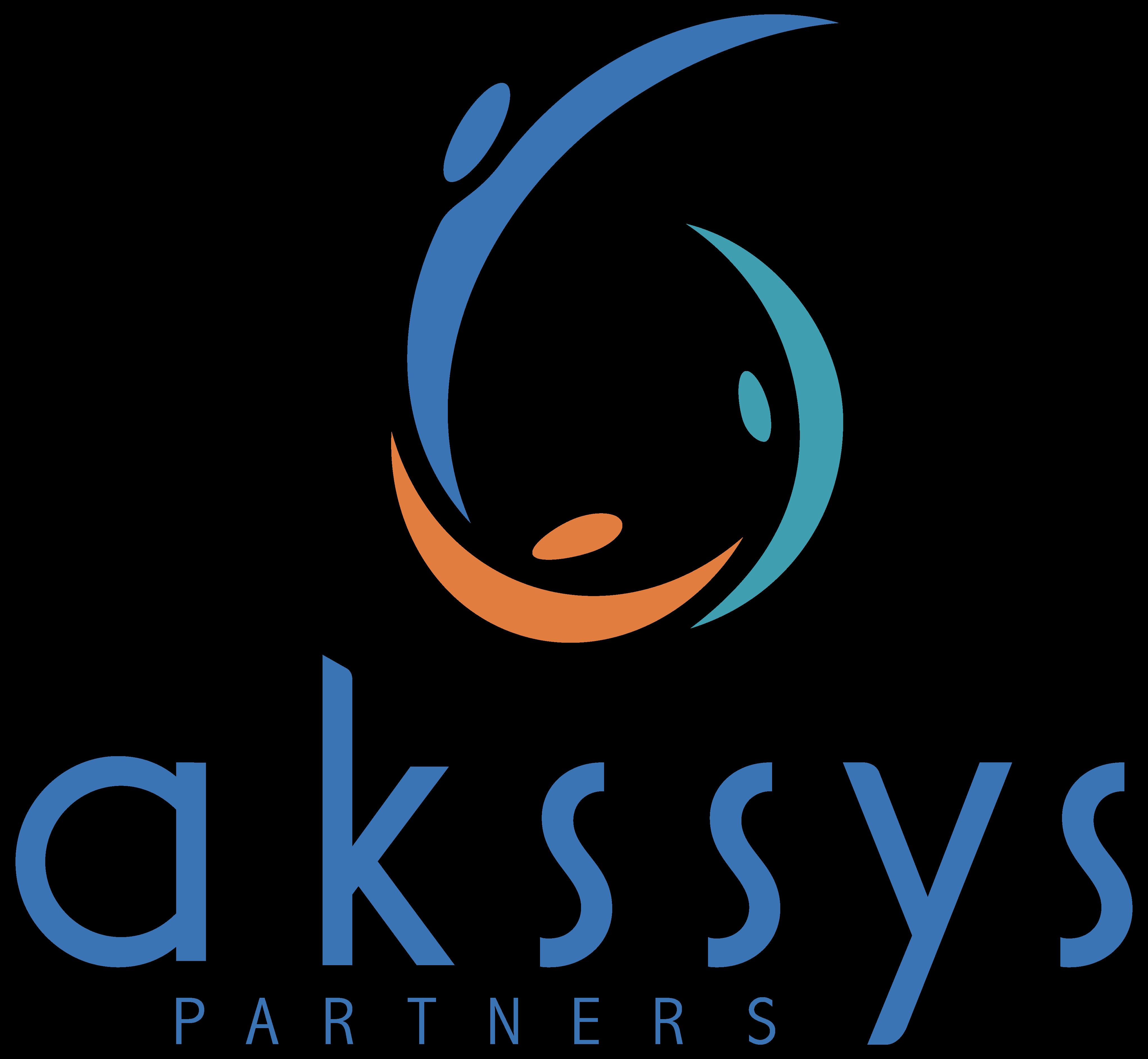 logo Akssys Partners, créé par Laurent Agier - agence de communication basée sur Toulon dans le Var
